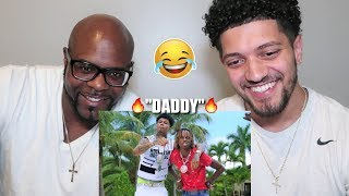 """MOM'S BF REACTS TO BLUEFACE & RICH THE KID! """"DADDY"""" *FUNNY REACTION*"""