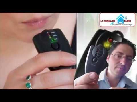 Como medir el nivel de alcohol en el organizmo alcoholimetro digital tester