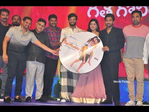 Geetha Govindham Audio Launch Event