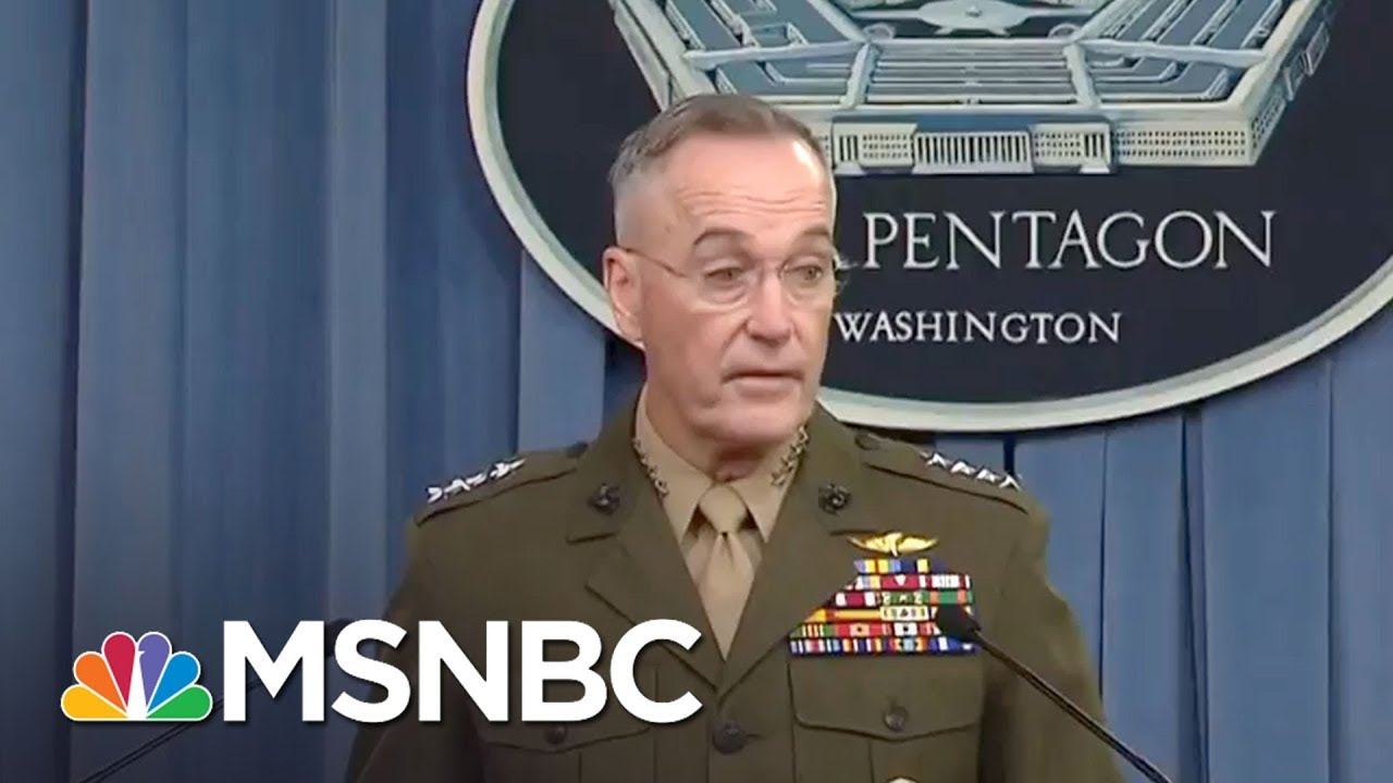 Niger Ambush: Pentagon Updates Why Americans Were In Africa | MTP Daily | MSNBC thumbnail
