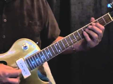 Very easy Blues Lick. This was one lick in a series of Blues lick videos.