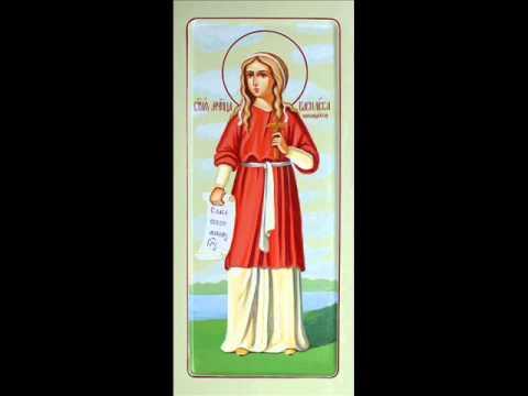 Страдање Свете мученице Василисе Никомидијске