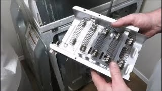 how to change a heating element in a dryer