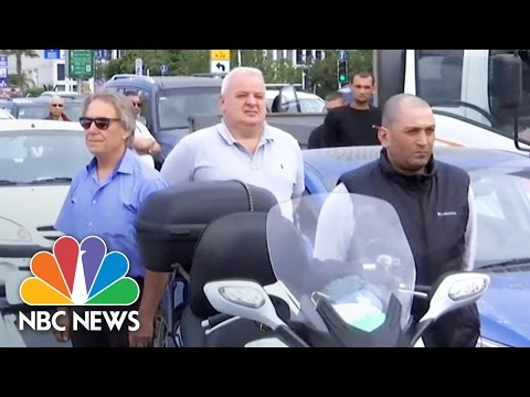 Israel Comes To A Standstill For Holocaust Remembrance Day | NBC News