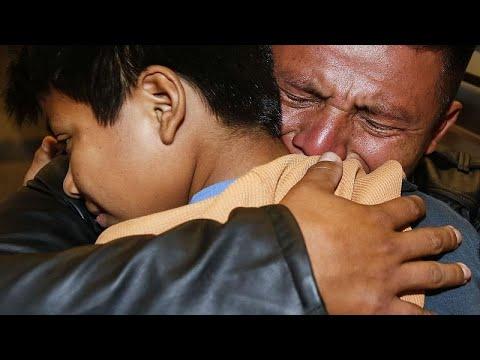 ΗΠΑ: Είδαν τα παιδιά τους μετά από ένα χρόνο