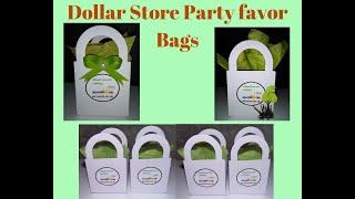 DOLLAR STORE PARTY FAVOR BAGS / PARTY FAVOR BAGS IDEAS