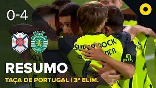 Resumo: CF Os Belenenses 0-4 Sporting - Taça de Portugal   SPORT TV