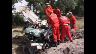 preview picture of video 'Car Crash in Bishkek / Bişkek'te Araba Kazası...'