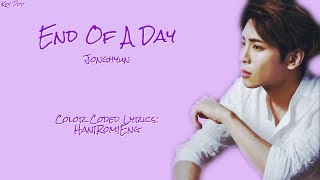 jonghyun end of the day lyrics english - TH-Clip