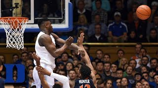 Zion Williamson's Top 5 Blocks of the Season