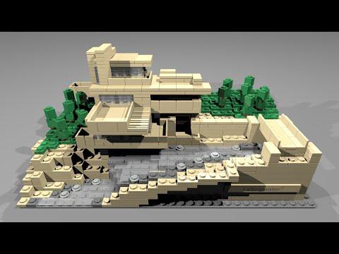 Vidéo LEGO Architecture 21005 : Fallingwater