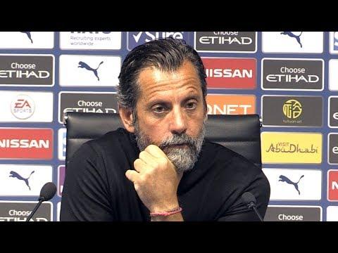 Man City 8-0 Watford - Quique Sanchez Flores Full Post Match Press Conference - Premier League