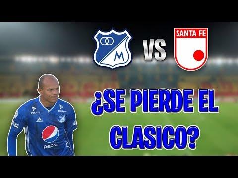 ¿Baja Importante Para Millonarios Para Enfrentar a Independiente Santa fe? Austin - FPC -