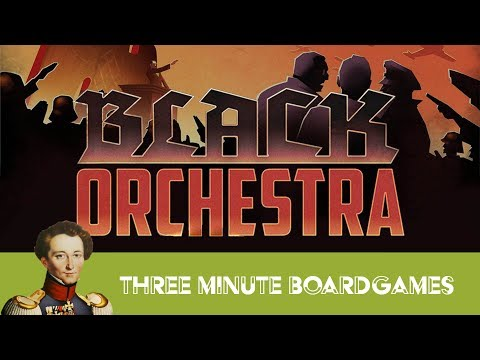 Black Orchestra in about 3 minutes