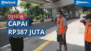Pelanggar Protokol Kesehatan Capai Ratusan Ribu di Jakarta Selama 3 Minggu