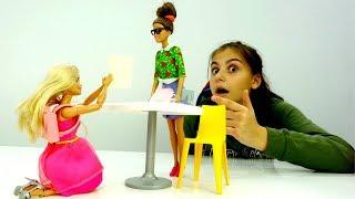 Мультики для девочек - Барби сдает экзамен - Игры в куклы