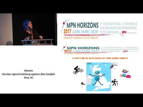 Volunteer regional fundraising organizers - MPN Horizons 2017