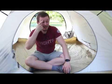 Кемпинговая палатка с автоматическим каркасом Greenell «Клер плюс 3». Видеообзор.