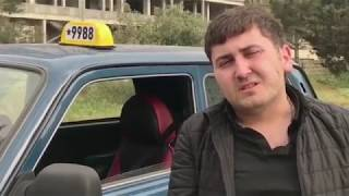 Azerbaycanda Qeyri-Adi Taksi Sürücüsü