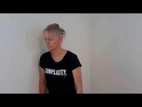 Bewegungstherapie in Osteochondrose der Halswirbelsäule Foto