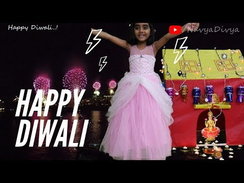 happy diwali 2019 | kids diwali celebration | Navya divya