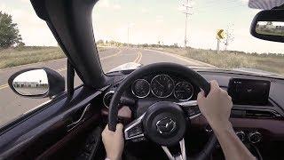 2019 Mazda MX-5 Miata RF Grand Touring - POV First Impressions (Binaural Audio)