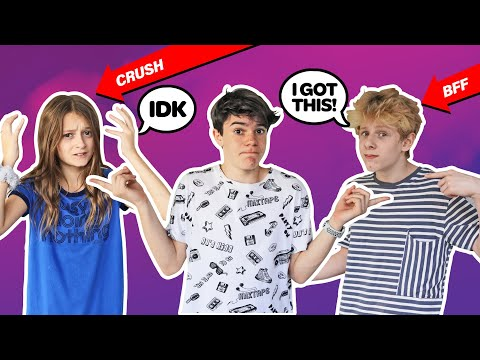 WHO KNOWS ME BETTER CHALLENGE, My Crush vs My Best Friend **The Truth EXPOSED**| Jentzen Ramirez