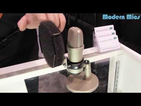 NAMM - Gefell Microphone POP Filter P110