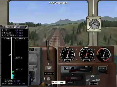 Microsoft Train Simulator Train Wrecks Part 13! Mp3
