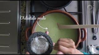 Tu cocina - Chileatole verde