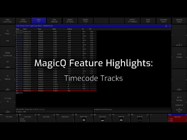 Timecode Tracks