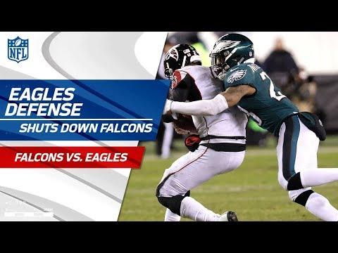 Philadelphia Defense Holds Atlanta to 10 Points! | Falcons vs. Eagles | Divisional Round  Player HLs
