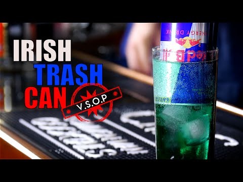 Video The Irish Trash Can Cocktail / Redbull Insanity