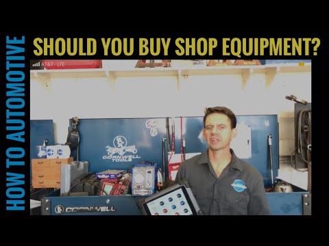 Is It Best to Buy Your Own Shop Equipment?