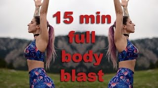 Full Body Blast - 15 Minute Tabata Style Bodyweight Workout - SOVI FIT by SOVI FIT