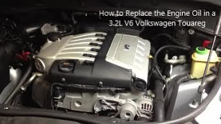 How to replace the engine air filter in a 3 2l v6 volkswagen touareg how to replace the engine oil in a 3 2l volkswagen touareg fandeluxe Image collections