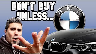 10 Reasons Not To Buy a Used BMW