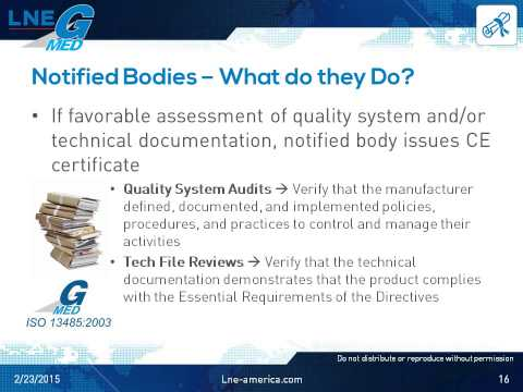 CE Marking and the Roles of Notified Bodies - YouTube