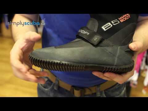 Waterproof B5 Marine Boot – www.simplyscuba.com