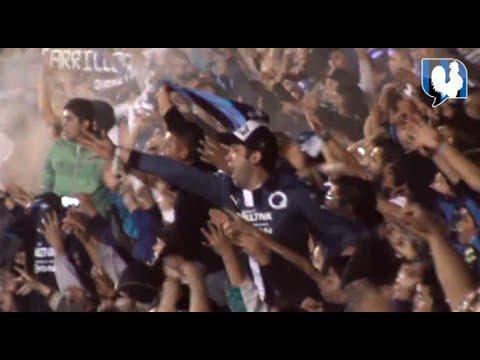 """""""Fiesta en el Corregidora así se vivió #SiempreGallos #GallosBlancos 3 - 1 Monterrey"""" Barra: La Resistencia Albiazul • Club: Querétaro"""