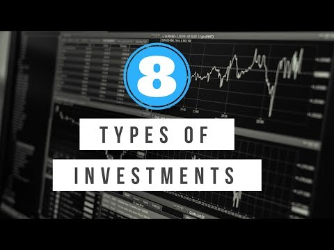 8 Types of Investments You Should Know