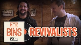 The Revivalists go record shopping with a fan in STL [In The Bins]