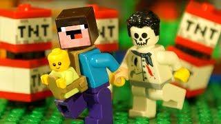 Бейблэйд Бёрст vs МАЙНКРАФТ и Лего НУБик Мультики LEGO - Все Новые Серии Подряд