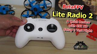 Review BetaFPV Lite Radio 2 FPV Drone Radio Control