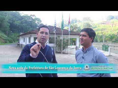 Prefeito Arizinho de São Lourenço da Serra fala sobre a Prefeitura de São Lourenço Serra nova Cidade Administrativa