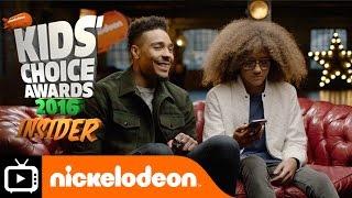 Jordan & Perri   KCA 2016 Insider #1   Nickelodeon UK