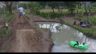 Drone DJI Phantom 4 - Testing Dirt Jump Bikepark di Balepare Bikepark, Kotabaru, Padalarang, Bandung