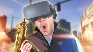 GTA 5 EN RÉALITÉ VIRTUELLE ! - GTA V Oculus Rift