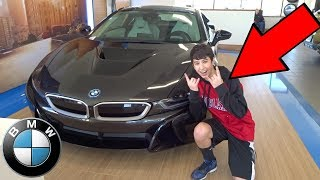 BUYING MY DREAM CAR AT AGE 14!!! BMW i8