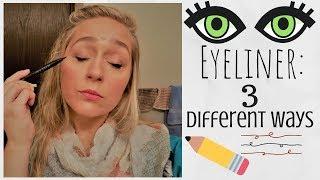 HOW I APPLY MY EYELINER | How To Use Mary Kay's Eyeliners